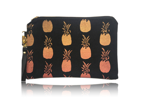 Pineapples - Small Handbag