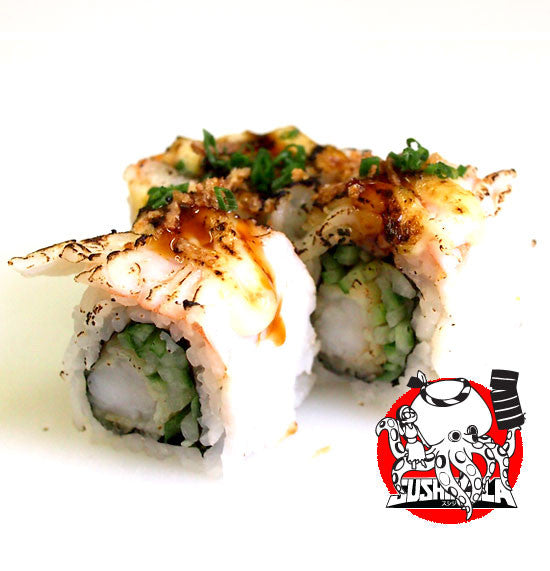 Zilla Prawn Cucumber Roll