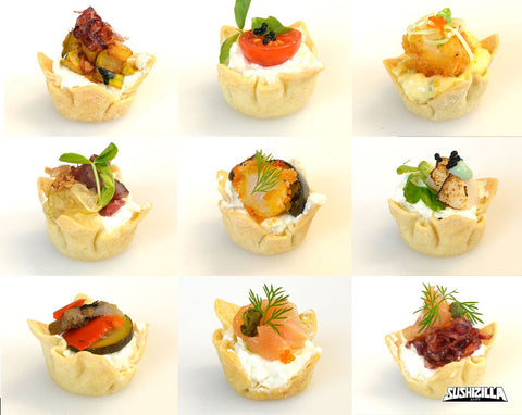 Assorted Canapes Zilla - 20 pcs