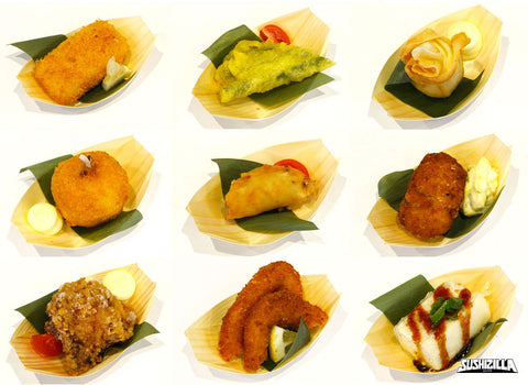 Assorted Agemono Canapes - 20 pcs