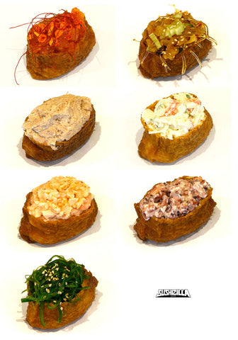 Assorted Inari Canapes - 20 pcs