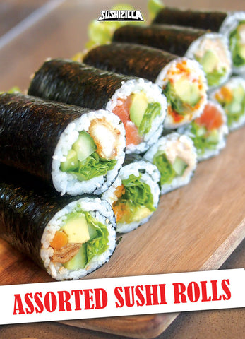 Assorted sushi rolls - 25pcs