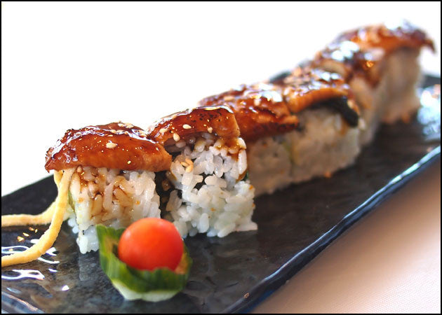 Dragon Roll (Unagi Roll) 鳗鱼卷