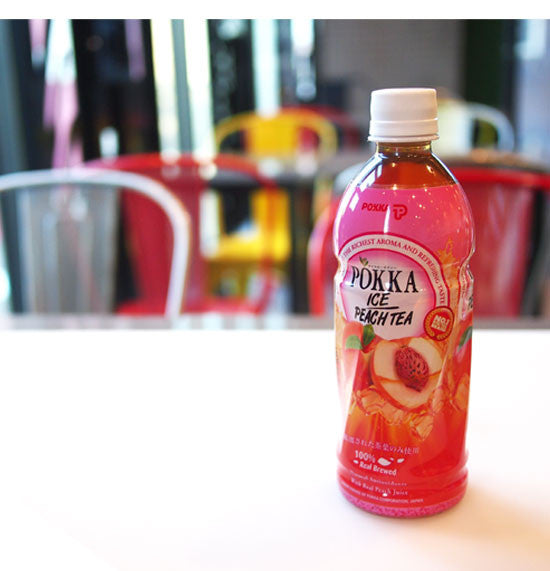 Pokka Ice Peach (bottle)
