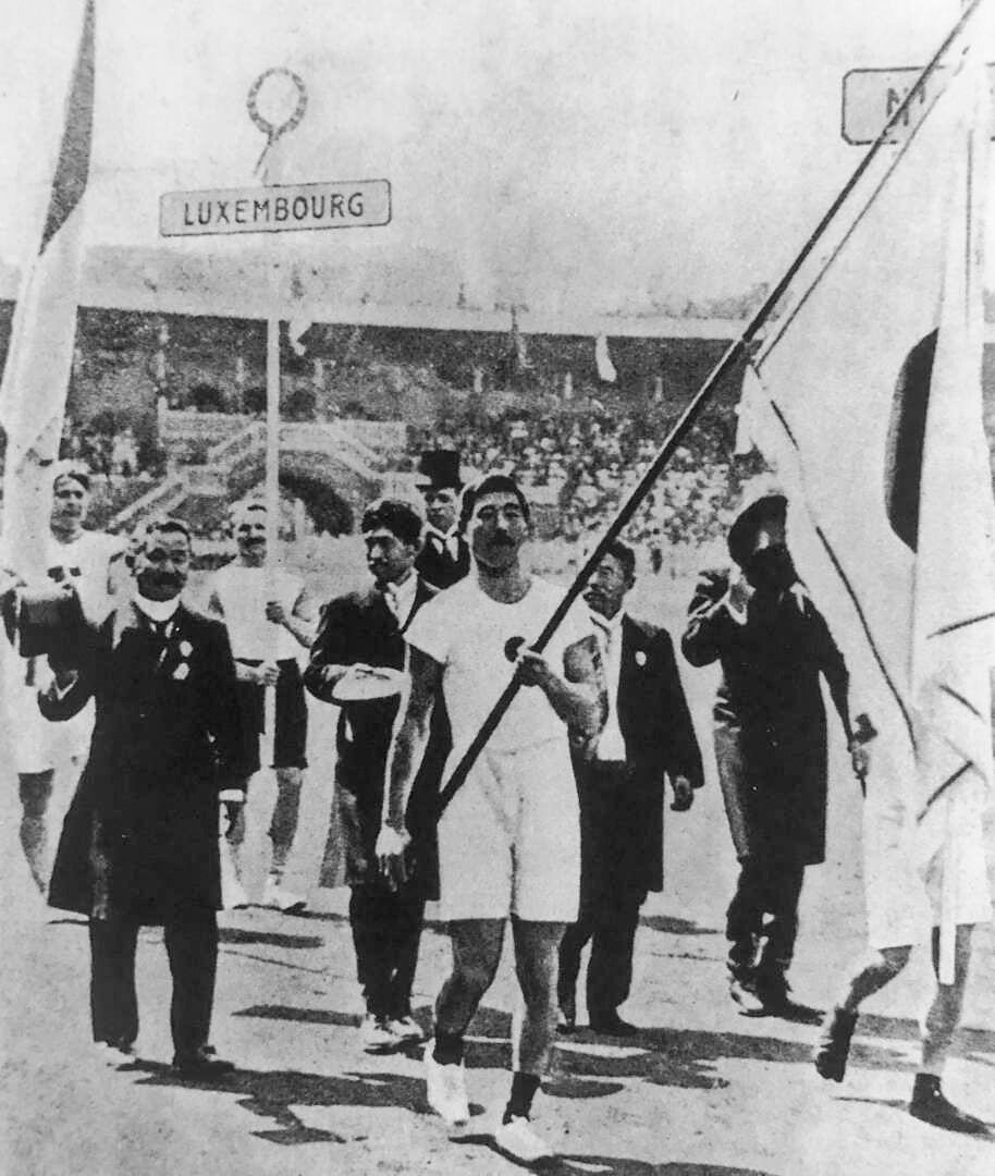 Jigoro Kano during the Olympics in 1912