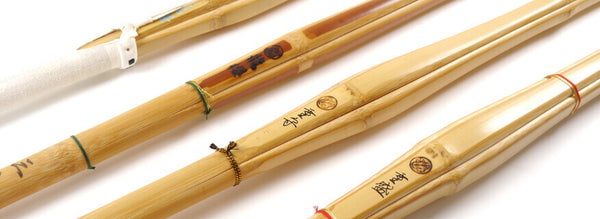 Classic Shinai, Smoked, Madake and Dobari