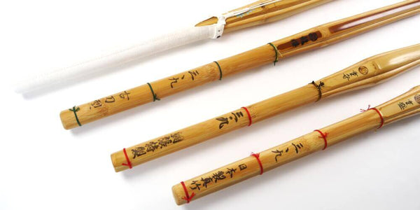 Classic Shinai, Smoked, Dobari and Madake