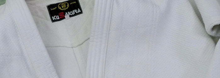 A well used KuSakura Judogi