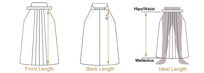Hakama Sizing Sketch
