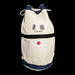 Sashiko Judo Bag - White - Japanase flag