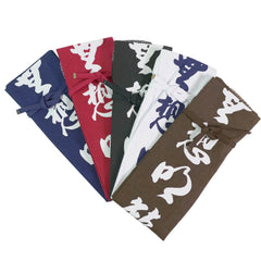 Colored Cotton Carry Bag for Shinai