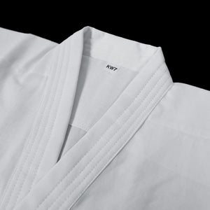 Single Layer White Cotton Iaidogi - Jacket