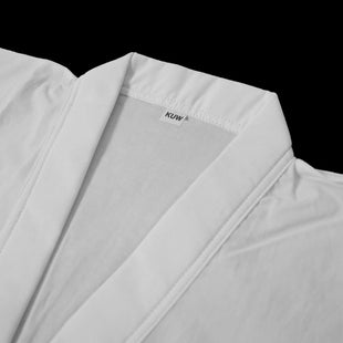 KuSakura White Cotton Juban/Hadagi - Under-Jacket