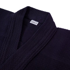 Deluxe Single Layer Navy Cotton Kendogi - Jacket