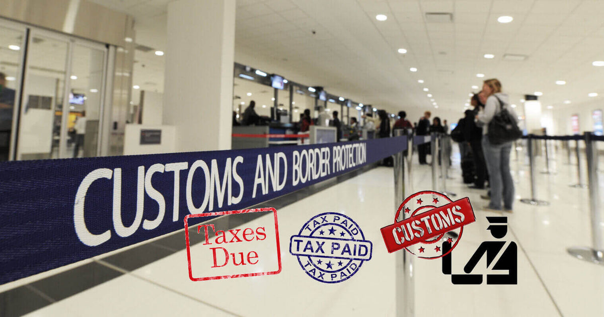 Customs & Taxes - Buying from Japan