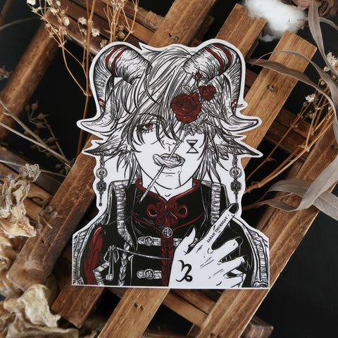 "「 山羊座 」Yagiza ""Capricorn"" Vinyl Sticker"
