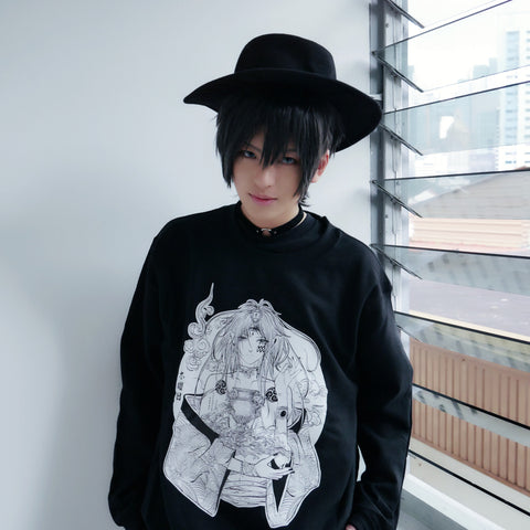 "「 水瓶座」Mizugameza ""Aquarius"" Sweatshirt"