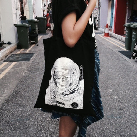 Mortality Black Totebag