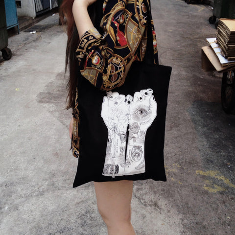 Obsession Black Totebag