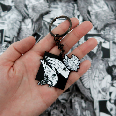Veritas Metal Pin & Keychain