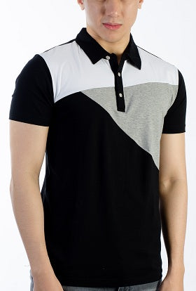 Sport Fit Style Club shirt  white/black/gray