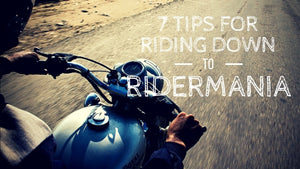 7 Tips For Riding Down To The BOBMC Rider Mania