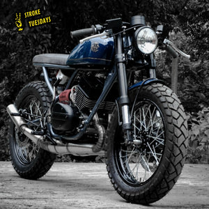Two Stroke Tuesdays : Custom Yamaha RD 350 Cafe Racer by Moto Exotica - The Wild Child