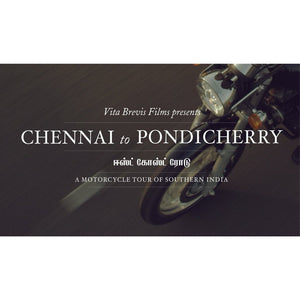 Short Motorcycle Movie - Chennai To Pondicherry