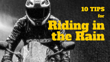 10 TIPS FOR RIDING IN THE RAIN - TRIP MACHINE COMPANY