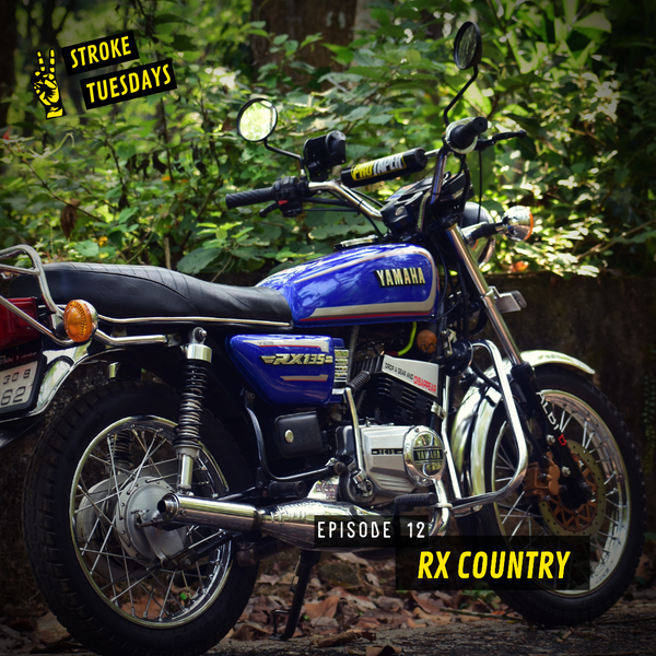 Two Stroke Tuesdays E 12 RX Country Yamaha RX 135 RX 100 Yamaha Motorcycle Trip Machine Blog