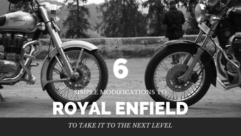6 simple modifications to Royal Enfield to take it to the next level Trip Machine Company