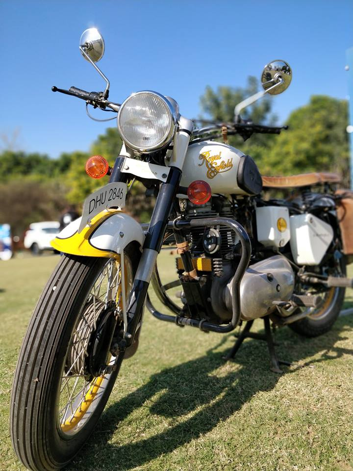 Delhi Bikers Fest Royal Enfield Custom Motorcycle Vintage Royal Enfield Bullet Trip Machine Company