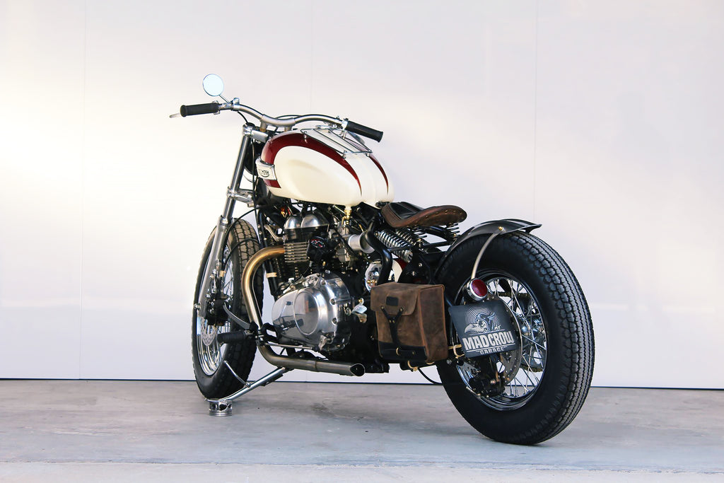 custom Triumph Thruxton - Trip Machine Company