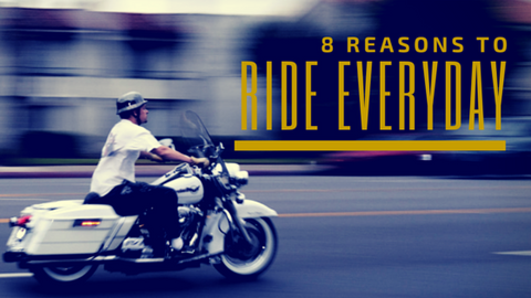 8 Reasons to Ride Everyday - Trip Machine Company