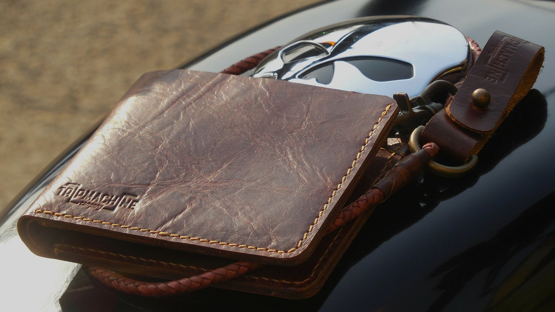 Leather Wallets - Trip Machine Company