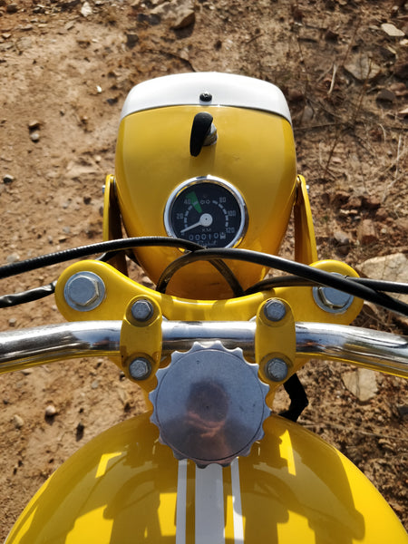 Trip Machine Company Two Stroke Tuesdays The Trip Machine Rajdoot Motorcycle SHL 175 Two Stroke