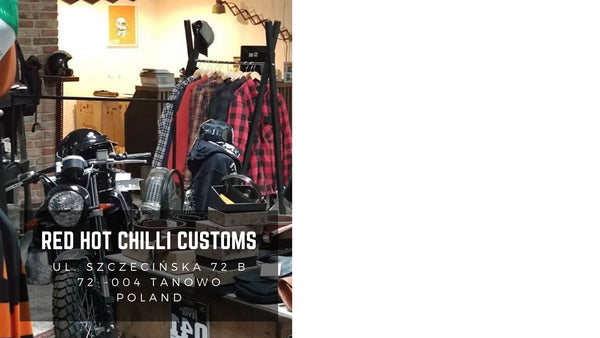 New Store Red Hot Chilli Customs Poland