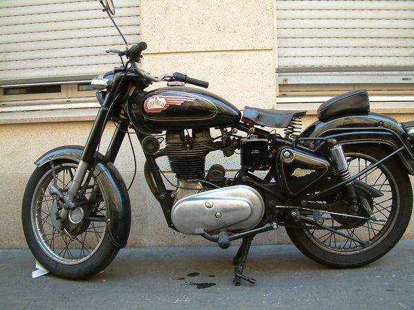 10 Holy Grail Motorcycles and their Significance Motorcycle Diaries Thump Thumper Royal Enfield Bullet Bullet 350