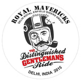 In conversation with a Maverick!! on the Distinguished Gentleman's Ride 2015 and The Royal Mavericks - TRIP MACHINE COMPANY