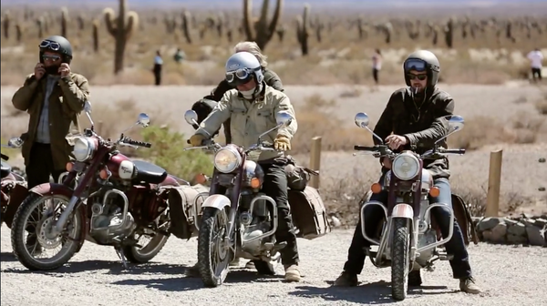 VIDEO: DUST & MOTORCYCLE STORIES: CHAPTER 2 - TRIP MACHINE COMPANY