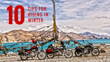 10 tips for Riding in Winter