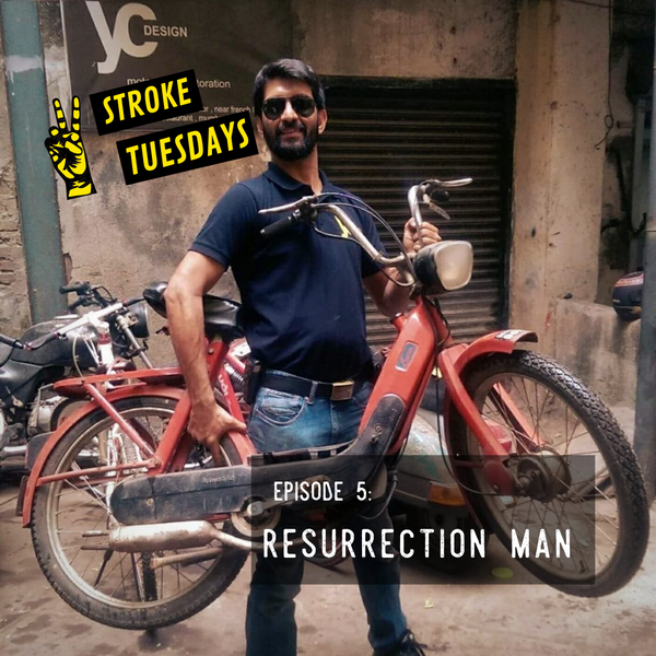 Trip Machine Company Two Stroke Tuesdays E05 Resurrection Man Yogi Chhabria YC Design