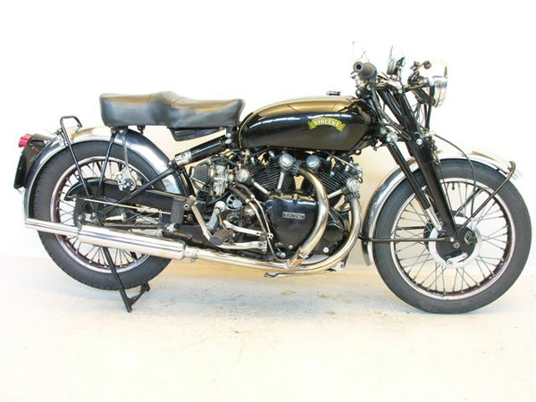 10 Holy Grail Motorcycles and their Significance Vincent Black Shadow Vincent HRD