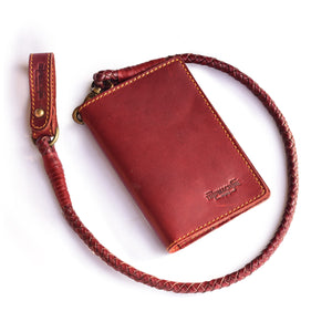 Explorer Wallet - Cherry Red