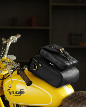 Tank Bag + Tank Pouch Black
