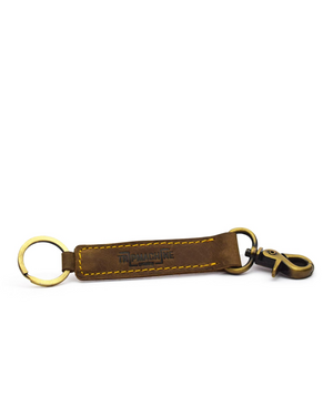 Classic Key Ring Tobacco Brown