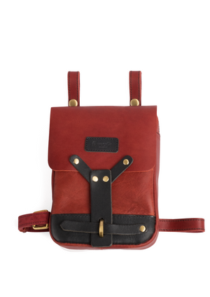 Thigh Bag Cherry Red