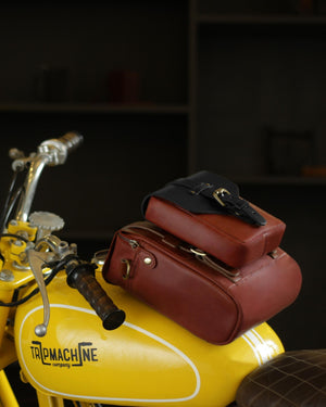 Tank Bag + Tank Pouch Cherry Red
