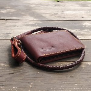 "Wallet - Cherry Red ""Lucy"""