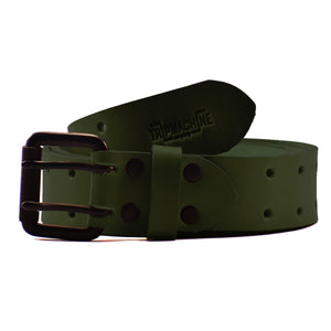 Belt - Army Green Double Pin